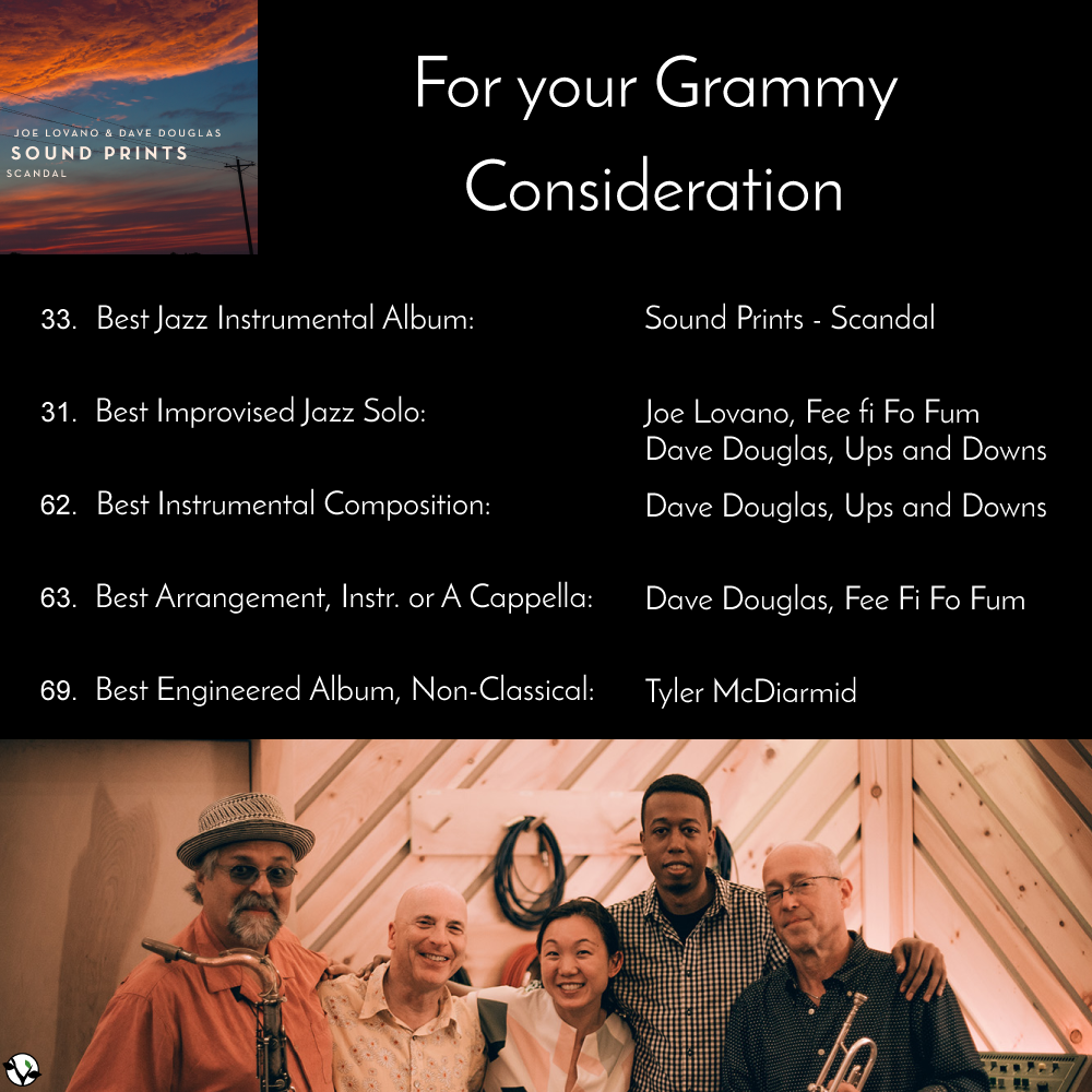 For your Grammy consideration | Greenleaf Music by Dave Douglas